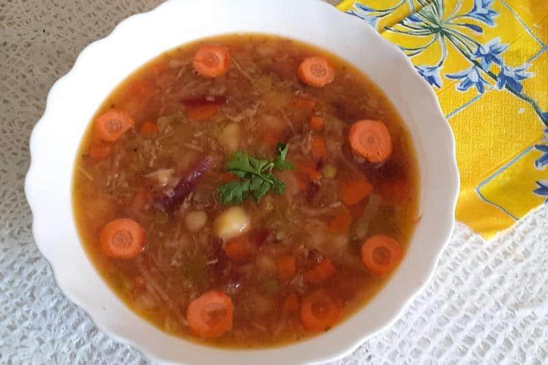 Овощной суп по-польски / Zupa jarzynowa