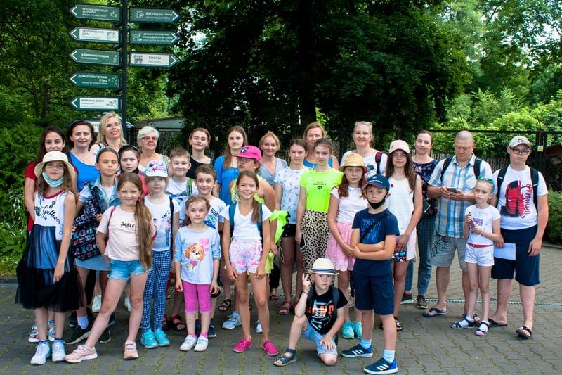 Полонийные приключения в зоопарке