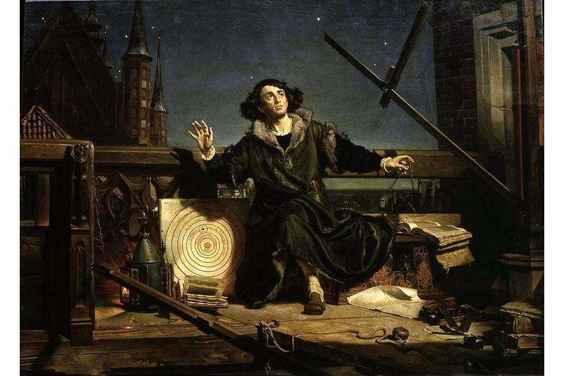 Ян Матейко «Коперник. Беседа с Богом»