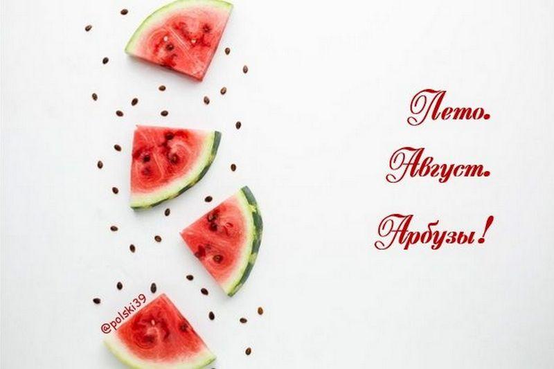 3 августа – всемирный день арбуза