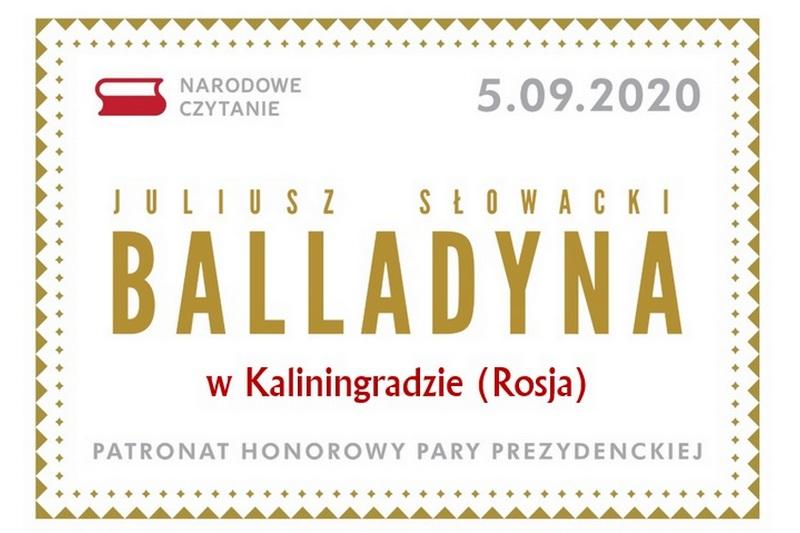 Народное Чтение 2020 в Калининграде