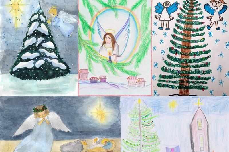 Галерея конкурсных работ «Чудесный праздник Рождества»