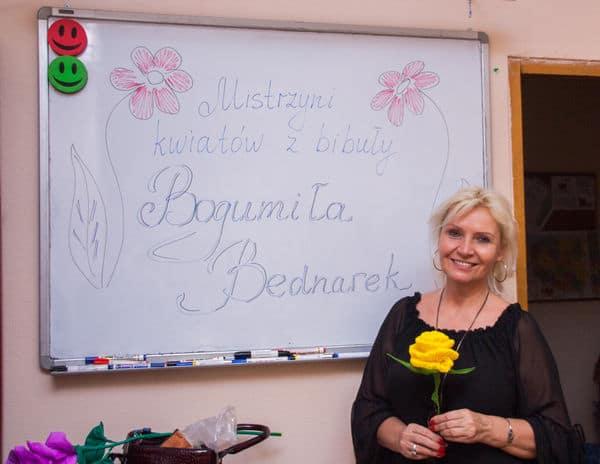 Warsztaty rękodzielnicze z Panią Bogumila Bednarek