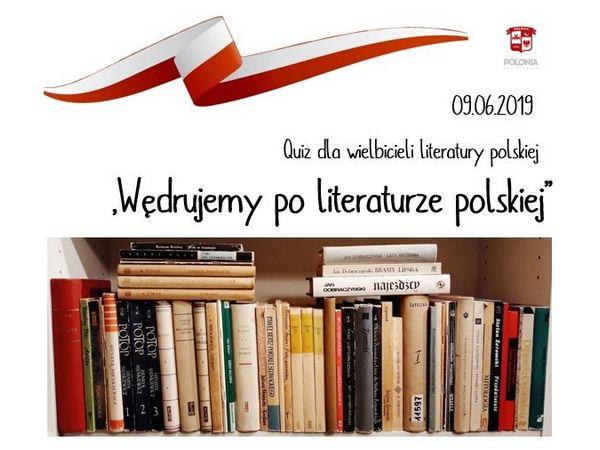 9 июня — викторина «Путешествуем по польской литературе»