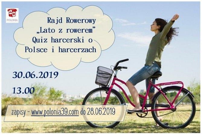 Веломарафон «Лето с велосипедом» с викториной о Польше и харцерах